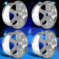 Wholesale New PC Set x Alloy Car Wheels Rim Chrome fit for Cadillac Escalade offset USA Stock