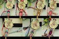 balloon bracelet - 2016 NEW Fashion bracelet watches balloon Hydrangea lady weave knit strap quartz watch women summer DHL gifts
