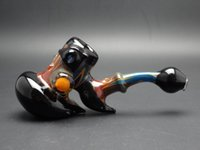 Wholesale Heady Glass bubbler Glass water pipes glass heavy hand pipes