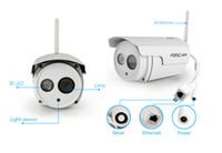Wholesale Foscam FI9803P Megapixel HD P Waterproof IP Camera P2P CMOS Sensor Free Foscam DDNS Night Vision M