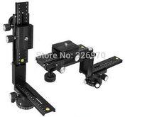 Wholesale The new upgrade kit FOTOMATE Pro panoramic head gimbal plate rail slider degree rotation DHL