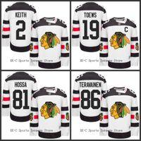 chicago - Chicago Blackhawks Jerseys Stadium Series Hockey Marian Hossa Patrick Kane Jonathan Toews Duncan Keith stitched size S XL