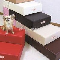 Wholesale ramps step leather dog stairs pet mat detachable cover