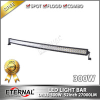 Wholesale high power in W Radius off road light bar x4 racing Jeep wrangler ATV light bar