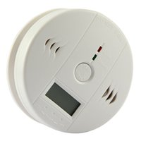 Wholesale White Technical CO Carbon Monoxide Poisoning Smoke Gas Sensor Detector Alarm Tester