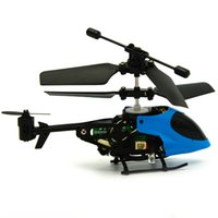 air craft parts - Accessories Parts Remote Control Channel Infrared Remote Control RC Mini Helicopter Air Craft Plane Airplane Model Blue