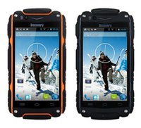 dustproof - Discovery V8 Smartphone IP68 Waterproof Dustproof Shockproof Android MTK6572 Dual Core WIFI Dual camera G GPS Cell phone