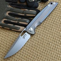 Wholesale Rike original RK1502 folding knife S35vn blade Titanium handle camping hunting outdoors pocket survival knives Utility EDC tools