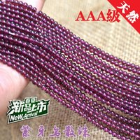 Wholesale Factory Boutique Class A natural purple teeth black garnet garnet beads scattered beads mm boutique can buy p
