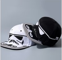 Wholesale 2016 New Arrival Fashion Brand Star Wars Snapback Caps Cool Strapback Letter Baseball Cap Hip hop Hats For Men Women