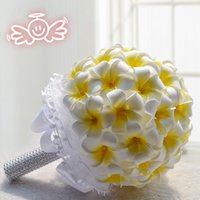 best choice wedding - 2015 New Artificial Bridal Wedding Flowers Decoration Yellow Lily Paper Bridesmaid Bouquets cm diameter cm high Best Choice WF007