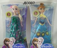 baby doll - 2015 inch joint Froze Fever anna elsa figure dolls barbie Cinderella doll baby girl frozen play set toys gift TOPB2766