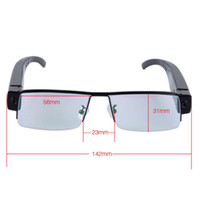 Wholesale Glasses camcorder FULL HD P digital video recorder mini hidden security dvr camera eyewear glasses camcorders V13