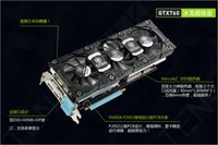 Wholesale Brand New INNO3D GTX760 NVIDIA GeForce GTX GDDR5 GB Bit SP MHz VGA Card For Desktop Graphics