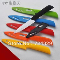 ceramic knife set - 4 Inch ceramic knife kitchen tools quot utility knife white blade ceramic knives colorful handle