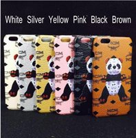 baby cellphone - Price New CellPhone Cases with gift box for apple S Plus Lovely Baby Panda Leather Pattern quot quot inches