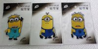 Wholesale New style Despicable Me the Minions Style embroidery patch Guaranted Quality Iron On Patches moif Appliques