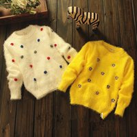 Wholesale baby girls sweater baby clothing