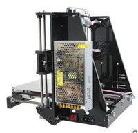 Wholesale Reprap Stampante D Printer Hot Sale d Prusa i3 Full Acrylic Frame MK8 Extruder LCD2004 of