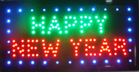 Wholesale 2015 Hot sale Customize Imput signs led neon happy new year sign Customize Imput board indoor size inch