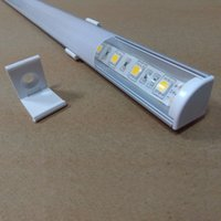 Wholesale 10m DHL LED Aluminum Profile with Milky Transparent Cover Cabinet Wardrobe Profile Lights LED Strip Holder SL M1610
