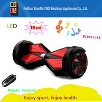 battery powered skateboards - Quality guarantee balancing electric hoverboard skateboard scooter inch Samsung lithium battery power remote controller bluetooth for gift