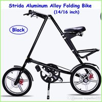 strida bike - Top Selling Strida Folding Bike STRIDA inch Aluminum Alloy Folding Bike flexible Inch None Spoke Wheels High Quality Bikes