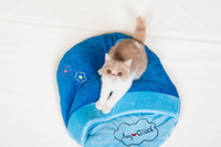 Wholesale New Style Soft pet Bed Pet House Fashion Colorful Animals Shape for cat PH3016
