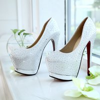 shape ups - Silver Wedding Shoes cm High Heel Rhinestone Bridal Shoes Fashion New Wedding Boots