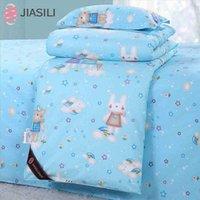 Wholesale 100 Silk Cotton Soft Cartoon Children Kids Detachable Quilt Comforter Duvet for Spring Summer Autumn x150cm Fast Shipping