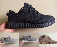 Unisex trainers - Top Quality Kanye Milan West Yeezy Boost Moonrock Oxford Tan Pirate Black Turtle dove Men s Trainers Sports Shoes Running Shoe