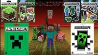 home decoration - minecraft wall stickers Collage Poster Minecraft Characters Classic Bedroom Setting Home Decoration poster print custom the wall paper child