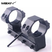 Wholesale Maxin Scope Mount mm long quot mm Ring Low Profile mm Dovetail Rail One Piece Scope Mount Dovetail Rail Top Waver Rail F