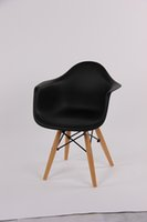 Wholesale Kids Eames with arm chair plastic chair for children indoor using