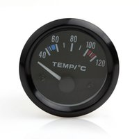 Wholesale New inch V Universal Car Pointer Water Temperature Temp Gauge White LED CEC_545