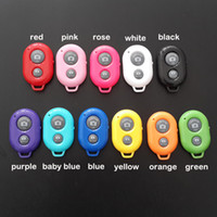 Wholesale Bluetooth Wireless Remote Shutter Self timer Self Timer Selfie Remote for iphone s Samsung HTC other android smart phones