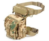 animal rides - Outdoor Multifunctional Tactical Military Leg Panel Utility Pouch Bag SWAT Hunting Tool Waist Pack Motocycle Sports Ride Electrical package