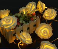 Rose Battery Lights Festival 2016 Lumières de Noël rose Light Net chaîne 20 LED Décoration de Noël