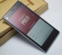 Wholesale Original Xiaomi Mi3 Mobile Phone Qualcomm Quad Core Xiaomi M3 GB RAM GB ROM quot Miui V5 p mp Camera GPS DHL Free Dealtime