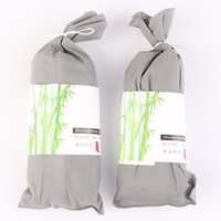 Wholesale 2 Bag Practical Bamboo Air Refreshing Delicate Purify Air Freshener Lessen Radiation Decoration for Car and Home