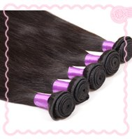 Wholesale Unprocessed Natural Color Remy Hair Weave Grade A Mix Length Straight Style Brazilian Malaysian Indian Peruvian Virgin Human Hair