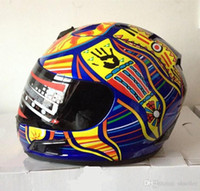 Wholesale New arrival Brand MRC Valentino Rossi motorcycle helmet MOTO full face helmet Kart racing motociclistas capacete DOT M L XL XXL A5