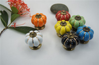 bedroom cupboard handles - 4 cm Kitchen Cabinets Knobs Bedroom Cupboard Drawers Colors Ceramic Door Pull Handles With Screws