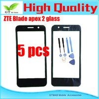 apex tools - 5pcs OEM Front Glass Touch Screen For ZTE Blade apex Glass Outer Lens touch Screen Replacement Free Tools