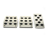 Wholesale Universal Motorcycyle Pedal Brake Accelerator Aluminum Foot Rest Pedal Automobile Car foot pegs Manual Clutch Cover Kit