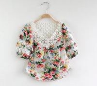 Cheap girls Floral t shirt Best floral shirt