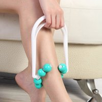 calf massager - Delicate PC New Roller Body Legs Relax Massager Calf Slimming Shapely Relaxation Muscle Massager Shank Thinning Massage Device