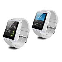 Wholesale U8 U Bluetooth Sport Smartwatch Smart Watch Bracelet for Samsnug Galasy S5 S4 S3 Note Sony LG Lenovo Smartphones Android Wear