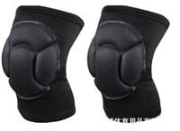 Wholesale Brand New Sport black durable knee shin protector protection guard pads kneepad kneepads pair
