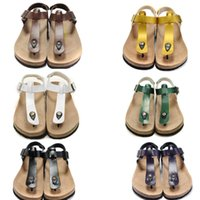 Wholesale 2015 birkenstock flat sandals summer beach women indoor Slippers Shoes loafers loafers Couples shoes Casual Sports Sandals